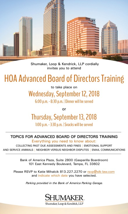 2018_Sept12_13_HOA Advanced Board Seminar