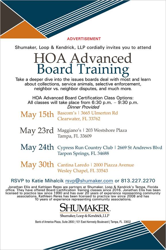 HOA Invite May 2019
